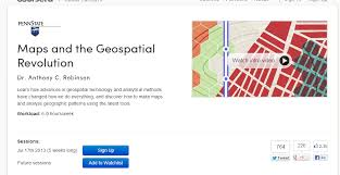 gis class online online gis course in coursera los angeles county enterprise gis