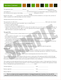 3 business contract agreementreport template document report