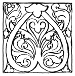 romanesque ornament clipart etc