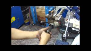 steering gear rack adjustment youtube