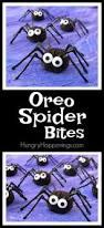 oreo spider bites cute and creepy halloween treats