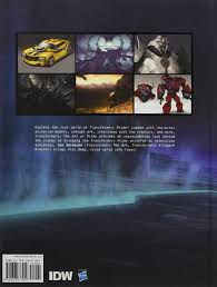 transformers art of prime jim sorenson 0884367612676 books