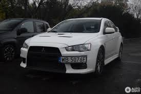 white mitsubishi lancer mitsubishi lancer evolution x 9 december 2016 autogespot