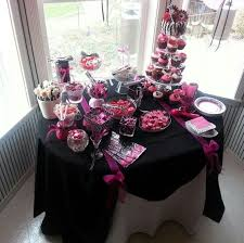 Pink And Black Candy Buffet by 20 Best Jhordan U0027s Party Images On Pinterest Parties Birthday