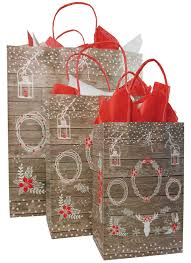 christmas paper bags paper shopping bags christmas the packaging source