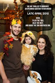 Pregnant Family Halloween Costumes Halloween Pregnancy Announcement Julie Sterling