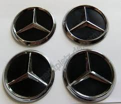mercedes decal mercedes 60mm chromed sticker decal wheel center cap tuning logo