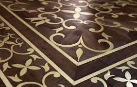 best price style metal inlay wood parquet flooring for sale