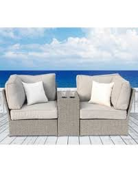 Grey Wicker Patio Furniture by Surprise 25 Off Chelsea Grey Wicker Patio Loveseat Sofa By