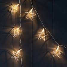 Rattan Star String Lights by Fairy And String Lights Notonthehighstreet Com