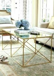 gold glass coffee table glass and gold coffee table rose gold glass side table migoalsco