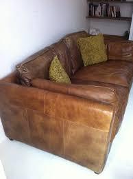 groucho medium leather sofa memsaheb net