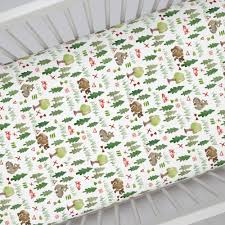 woodland crib sheets fitted sheet for cribs carousel designs