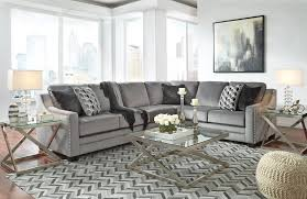 Laf Sofa Sectional Bicknell Charcoal 2 Pc Laf Sofa Sectional 86204 66 49