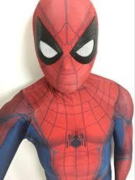 2017 spiderman homecoming costume spandex spiderman cosplay
