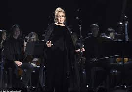 Beyonce Singing I Rather Go Blind Adele Stops Grammys Tribute To George Michael Mid Song Daily