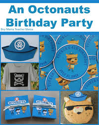 octonauts party supplies boy an octonauts birthday party boy