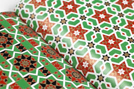 italian wrapping paper italian tile mosaics the pepin press