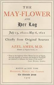 the may flower and her log by azel ames