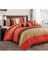 Burnt Orange Comforter King Sweet Deals On Orange Comforter Sets