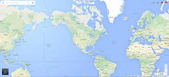 World Google Map by Javascript Fill Container With Non Repeating Map With Google