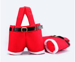 xmas gift amazon com homecube christmas candy bag santa pants gift and