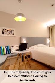 top tips to quickly transform your bedroom without having to re