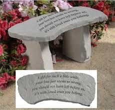 baby remembrance gifts garden memorial stones