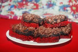 red velvet oreo brownies vibrantly vegan