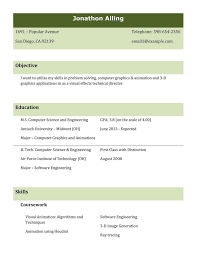 Free Resume Templates Pdf Resume Format Pdf For Students