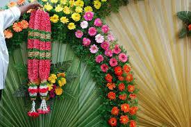 Indian Wedding Flowers Garlands Rose Petal Garland Manufacturer U0026 Manufacturer From India Id