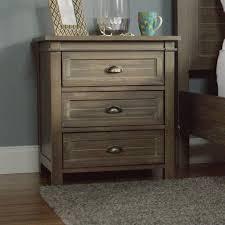 nightstand appealing grey wood nightstand within breathtaking
