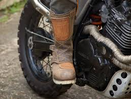 used motocross boots café racer 76 01 14 15
