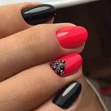 best 25 red black nails ideas on pinterest dot nail designs
