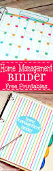 home management binder free printables the gracious wife