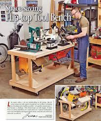 Tool Bench Plans Bench Flip Top Tool Bench Diy Flip Top Workbench Flip Top Tool