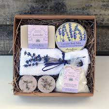 bath gift sets lavender bath and beauty gift set by lovely greens
