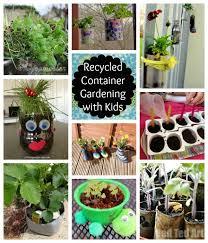 Gardening Ideas For Children Recycled Container Gardening Ideas 40 Creative Diy Garden