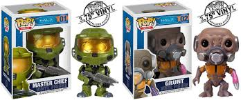 Asia Khan Bad Orb The Blot Says Halo Pop Series 1 Vinyl Figures By Funko