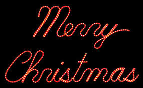 imposing decoration merry lighted sign outdoor signs