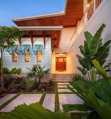 landscape design front yard slope garden tropical landscaping