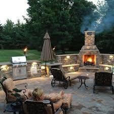Outdoor Patio Fireplace Designs Amusing Outdoor Patio Fireplace Ideas Photos Best Ideas Exterior