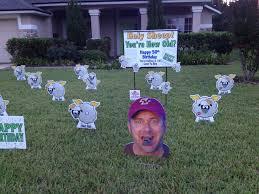 Birthday Lawn Decorations Fun Reviews Yards Of Fun