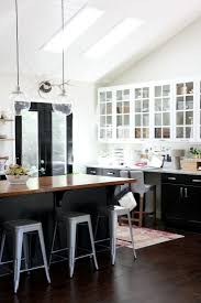Kitchen Cabinets With Glass One Color Fits Most Black Kitchen Cabinets
