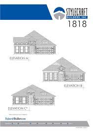 house of bryan floor plan 1818 home builders temple tx stylecraft builders