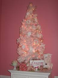 pink and white tree i got the prettiest pink lights