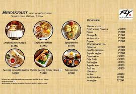 cuisine fly fly cafe breakfast menu picture of fly cafe cuisine ubud