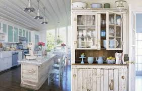 Shabby Chic Decorating Ideas Cheap by Shabby Chic Kitchen Cabinets Hbe Kitchen