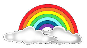 coloring pages printables rainbows rainbow space for colours in