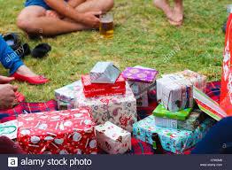 Australian Christmas Australian Christmas Secret Santa Kk Kris Kringle Stock Photo
